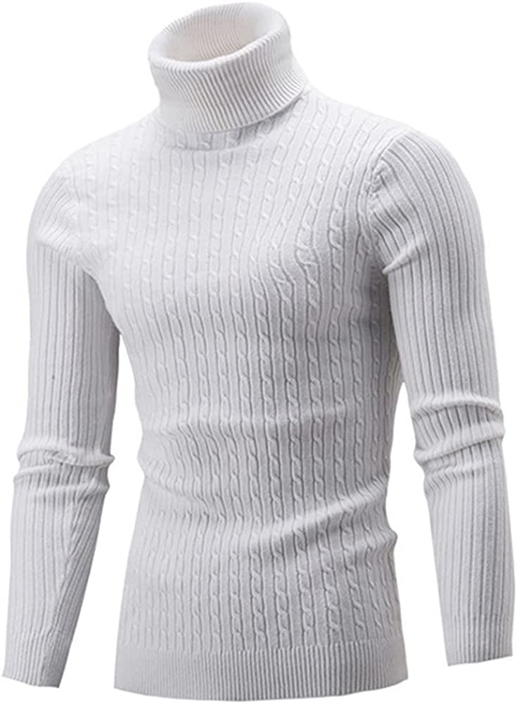 NP Spring Sweater Men Knitted Mens Sweaters Casual Male Double Collar Slim