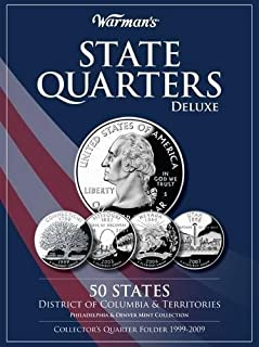 [Hardcover] [Warman's] State Quarters 1999-2009 Deluxe Collector's Folder: District of Columbia and Territories, Philadelphia and Denver Mints (Warman's Collector Coin Folders)