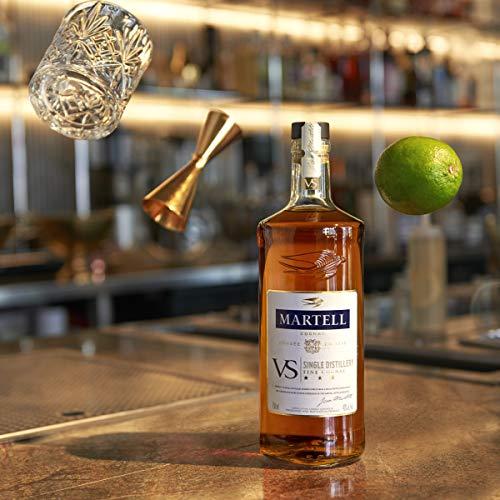 Martell V.S. Fine Cognac 1715 – Einzigartiger Cognac mit würzigem Geschmack – Ideal als Geschenk oder für besondere Anlässe geeignet – 1 x 0,7 L - 4