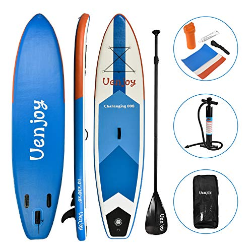 Uenjoy 10' Inflatable Stand Up Paddle Board