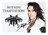 Sharon den adel - Within Temptation Signiert Autogramme