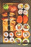 Notebook: Japanese food photography Sushi [110 pages]: Japanese food photography Sushi