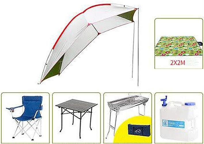 JIANFEI Tente De Camping Abri De Jardin étanche Toile Bache Voyage En Plein Air 5-6 Personnes Pouvant Accueillir Anti-tempête 10 Tailles (Couleur   J, Taille   240x190x200cm)