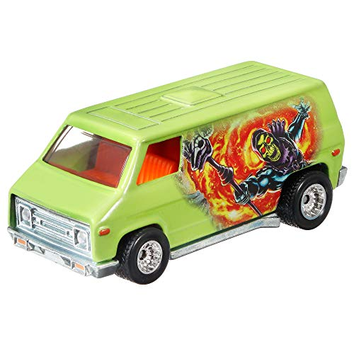 Hot Wheels Pop Culture 70's Van of 1:64 Scale Vehicle for Kids Aged 3 Years Old  Maine