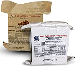 S.O.S. Rations Emergency 3600 Calorie Food Bar (Cinnamon + Coconut, 2 Pack)