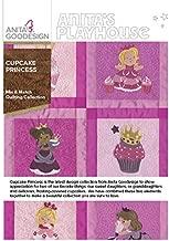 Anita Goodesign Embroidery Designs Cupcake Princess