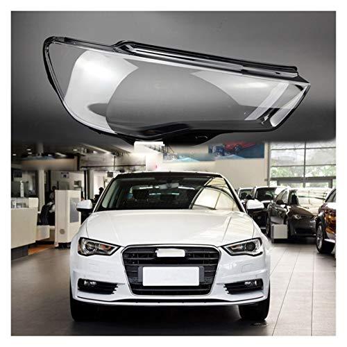 Autoscheinwerfer Klar Shade Sitz Fit For AUDI A3 2013-2016 Objektivscheinwerfer Transparentes Gehäuse Lampenschirm Objektiv-Licht Transparenten Glas Autolichtschutzhülle Shell Scheinwerferlinsenabdeck