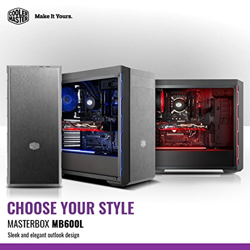 CoolerMasterMasterBoxMB600LBlueミドルタワー型PCケースCS7147MCB-B600L-KA5N-S01