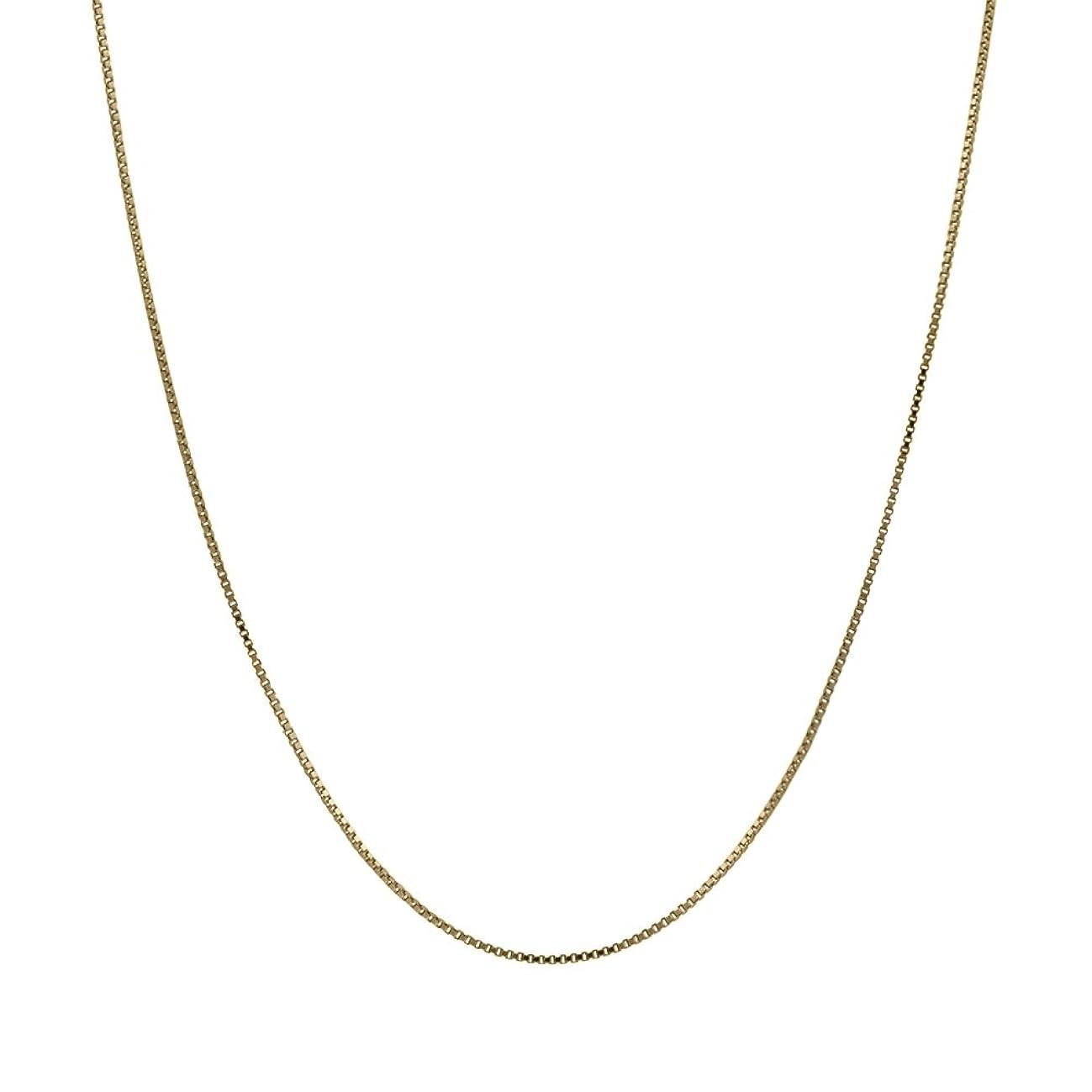 Honolulu Jewelry Company 14K Solid Yellow Gold Box Chain Necklace