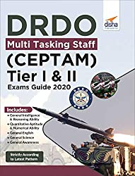 DRDO Multi Tasking Staff (CEPTAM) Tier I & II Exam Guide 2020Paperback– 31 Dec 2019