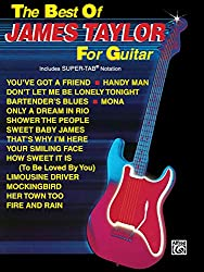 The best of james taylor for guitar guitare