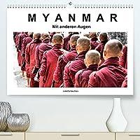Myanmar - Mit anderen Augen (Premium, hochwertiger DIN A2 Wandkalender 2022, Kunstdruck in Hochglanz): Myanmar in Schwarz-Weiss-Bildern mit Farbe (Monatskalender, 14 Seiten )