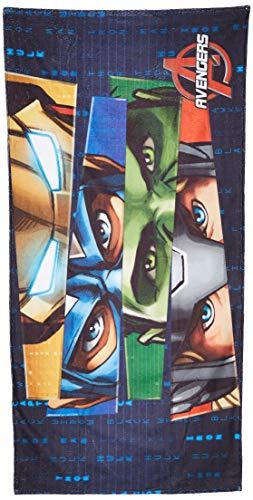 Colchas Concord Avengers Toalla suavitec Avengers Estandar, color Azul, , pack of/paquete de 1