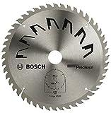 Bosch 2609256B58 - Lama di Precisione per Sega Circolare, 48 Denti, Carburo, Taglio Netto, Diametro 235 mm, Alesaggio con Anello di Riduzione, 30/25, Larghezza di Taglio 2.5 mm