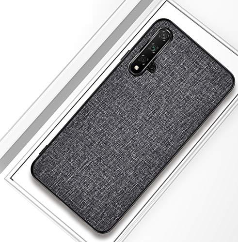 Honor 20 Pro Case Hard Back Cover + weicher TPU Bumper All-Inclusive bruchsichere Silikonhülle für das Honor 20 Pro Case-Schwarz