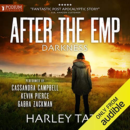 Darkness: After the EMP audiobook cover art