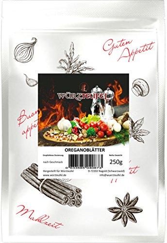 Oregano gerebelt, Oregano geschnitten, Oreganoblätter keimreduziert. Premiumqualität aus Griechenland. Beutel 250g.
