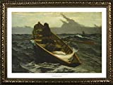 Framed The Fog Warning by Winslow Homer 36x24 Art...