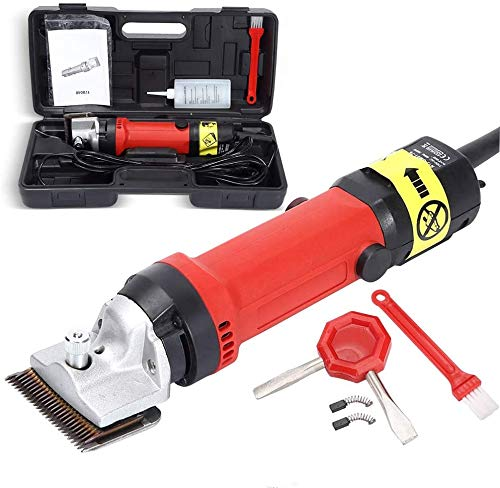 TOPQSC Cordless Sheep Shears Electric Pet Trimmer Set With 6 speed control...