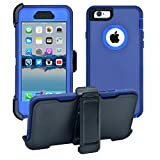 iPhone 6 / 6S Cover | 2-in-1 Screen Protector & Holster...