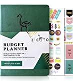Simplified Monthly Budget Planner - Easy Use 12 Month Financial Organizer with Expense Tracker Notebook - The Monthly Money Budgeting Book That Manages Your Finances Effectively