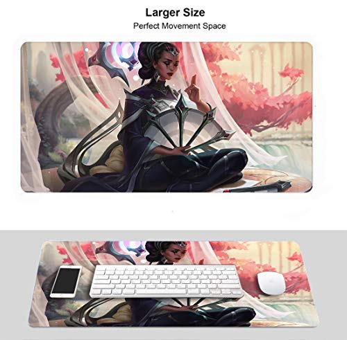 Professional Gaming Mouse Pad for League Legends, Waterproof Non-Slip Rubber for Pc Computer Laptop...