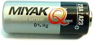 A23 Battery 12V Alkaline 55 mAh for Garage Doors Opener, Ceiling Fans & Wireless Doorbells Remotes Type: 12 Volt MN21 23GA 21/23 GP23AE A23G A23S by MIYAK (1 pcs)