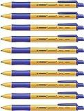 Penna a Sfera Ecosostenibile - STABILO pointball - 79% Plastica Riciclata - Confezione da ...