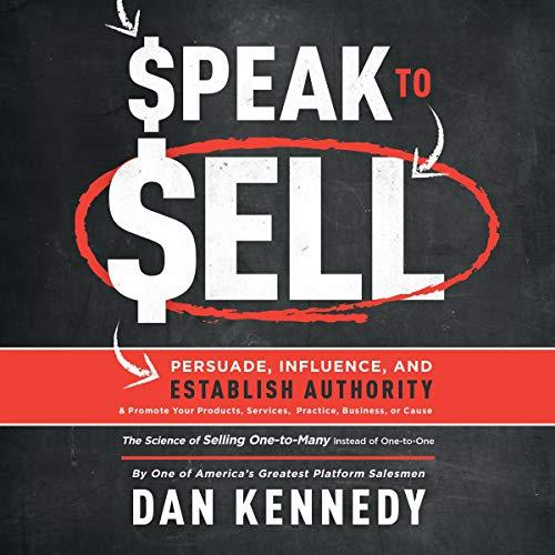 Speak to Sell cover art