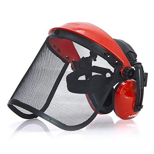 AOSOME Casque de Sécurité - Protège-oreilles &...