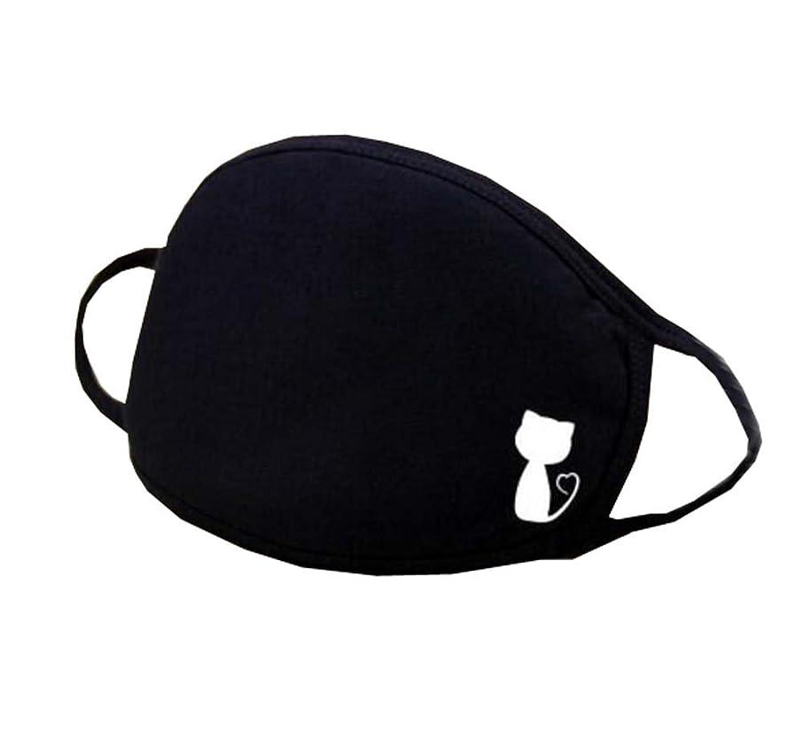 内部天気シェル口腔マスク、ユニセックスマスク男性用/女性用アンチダストコットンフェイスマスク(2個)、A8