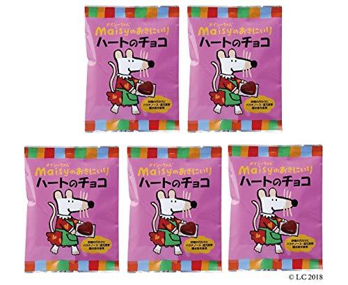 メイシーちゃん(TM)のおきにいり ハートのチョコ (5g×8個入り)×5個 ★ コンパクト★ 対象年齢(目安):3才頃から。★北海道産ミルクを使用した、ひとくちサイズのハート形ミルクチョコ。砂糖の代わりにパラチノース・還元麦芽糖水飴を使っています。個包装