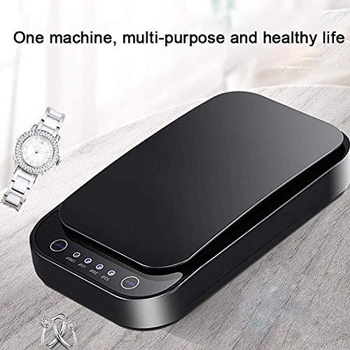 Nicekko Draagbare desinfectiebox UV Smartphone desinfectiemiddel huishouden met UV-kiemdodende lamp UV-sterilisatie desinfectie voor mobiele telefoon ondergoed masker