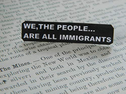 Lapel Pin We The People Are All Immigrants