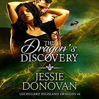 The Dragon's Discovery audiobook cover art