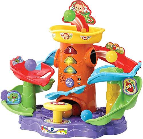 Vtech 80-505404 Ballspass Kugelbahn/Babyspielzeug, Mehrfarbig
