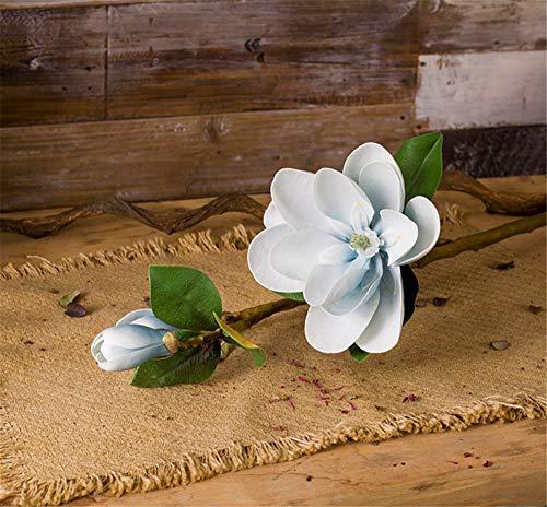 Kunstbloemen Magnolia bloem hoge kunstbloem woonkamer TV kast vaas nep bloem huisdecoratie binnen vloer bloem 100 cm Bloem Producten inclusief: Kunstbloemen
