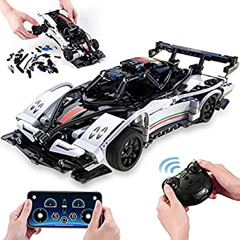 Toys for 6 7 8 9 10 11 12 + Year Old Boys STEM Building Sets Remote Control Race Car Educational Toys Learning Building Kits,Birthday Gifts for Kids and Adults  457Pcs