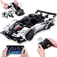 Toys for 6 7 8 9 10 11 12 + Year Old Boys STEM Building Sets Remote Control Race Car Educational Toys Learning Building Kits,Birthday Gifts for Kids and Adults (457Pcs)