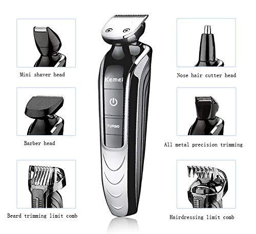 MPLMM Tagliatore Elettrico Ricaricabile Capelli Clipper Hair Clipper Uomo Comodo tagliatore Elettrico Adatto a Uomini e Bambini