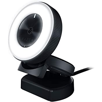 Webcam Web Cam Razer Kiyo Autofocus Ring Light Computer Online Streaming Webcam w/Mic
