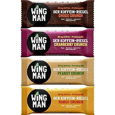 WINGMAN Koffein Riegel Probierpack