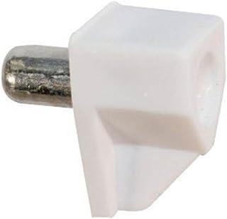 Euro tafelplankbouten 5mm wit 50 stuks plank bouten pins zilver plank metaal