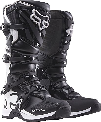 Fox Youth Comp-5 Bottes Noir