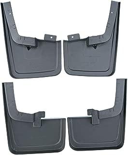 avec Vis Fixation Accessoires Fender Pleine Protection Roue Salet/é GLFDYC 4Pcs Noir Garde-Boue pour VW Multivan T6 2016-2020 Avant Arri/ère Bavettes Modification Voiture