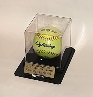 Best softball display case engraved Reviews