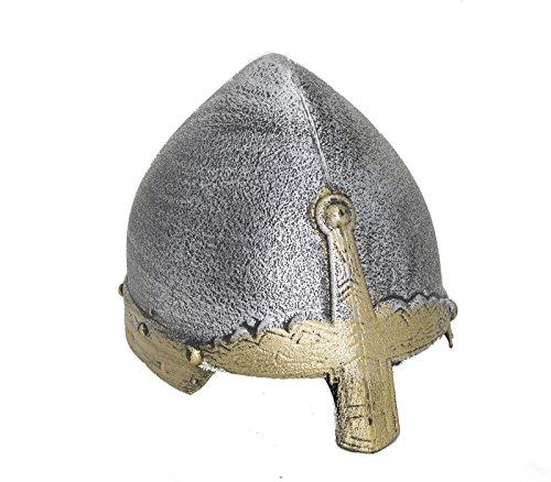 Nicky Bigs Novelties Child Medieval Knight Crusader Spangenhelm Costume Helmet