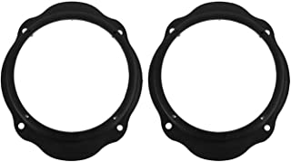 Greatly Store 2pcs 6.5in Car Front Door Speaker Spacer Ring Adapter Plates Fit for Ford Focus