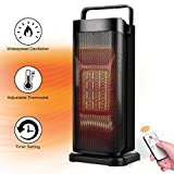 Best Electric Heaters - Electric Space Heater - 1500W Fast Heating Portable Review