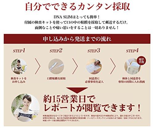 [Webレポート版]DNASLIMダイエット遺伝子検査キット